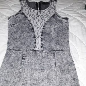 Dazel denim girls dress